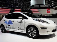 Nissan Leaf Autonomous Drive Geneva 2014
