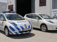 Nissan Leaf Blue Light