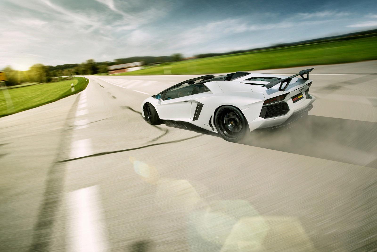 Novitec Torado на основе Lamborghini aventador LP 700-4 roadster