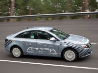 Opel Ampera at the test track