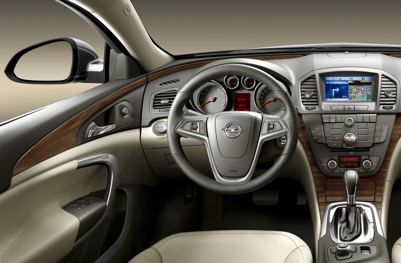 Opel Insignia: дизайн Opel будущее