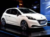 Peugeot 208 Hybrid Air Paris 2014