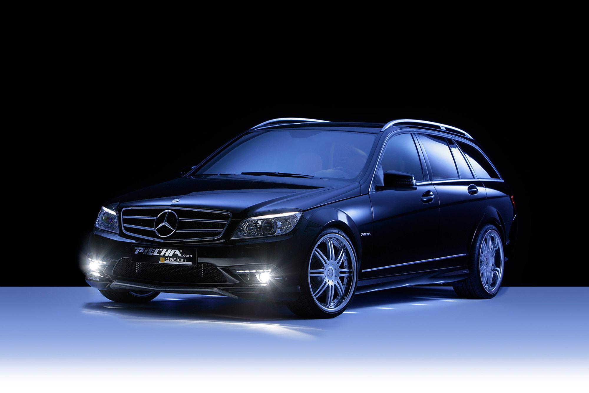 Piecha Design уточняет Mercedes-Benz C-Class универсал - фотография №1