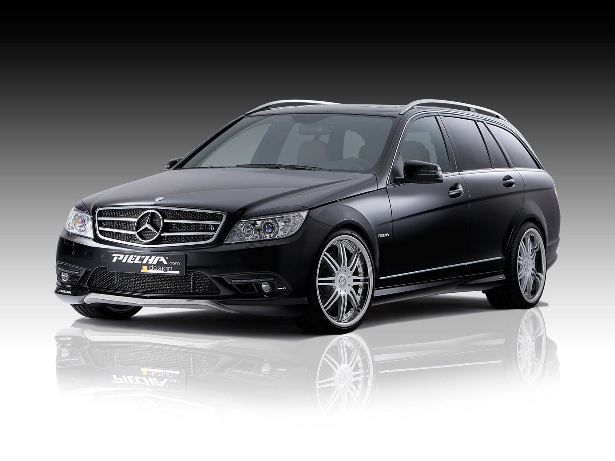 Piecha Design уточняет Mercedes-Benz C-Class универсал - фотография №2
