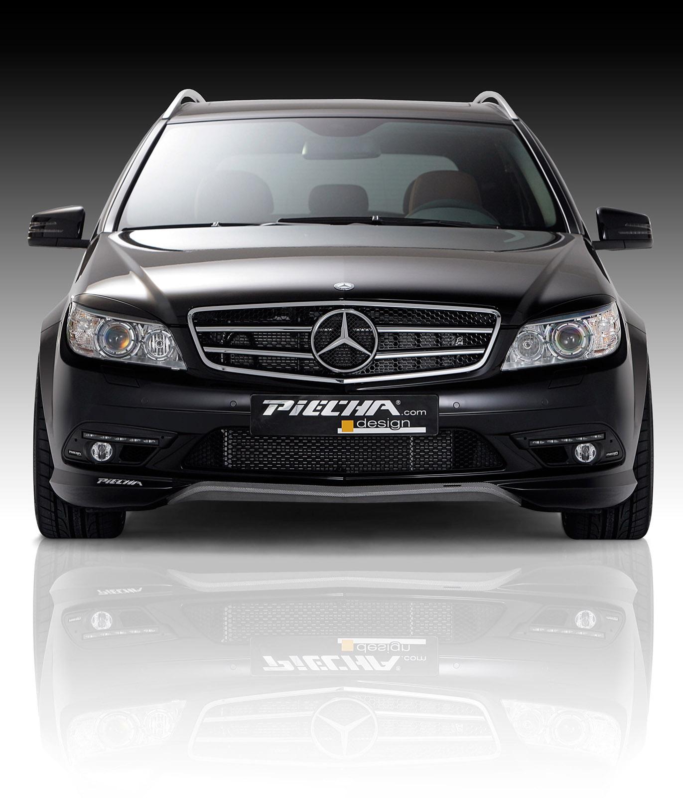 Piecha Design уточняет Mercedes-Benz C-Class универсал - фотография №3