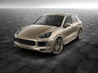 Porsche Exclusive Cayenne S in Palladium Metallic
