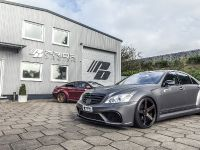 PRIOR-DESIGN Black Edition V3 Widebody Aero-Kit for MERCEDES S-Class W221