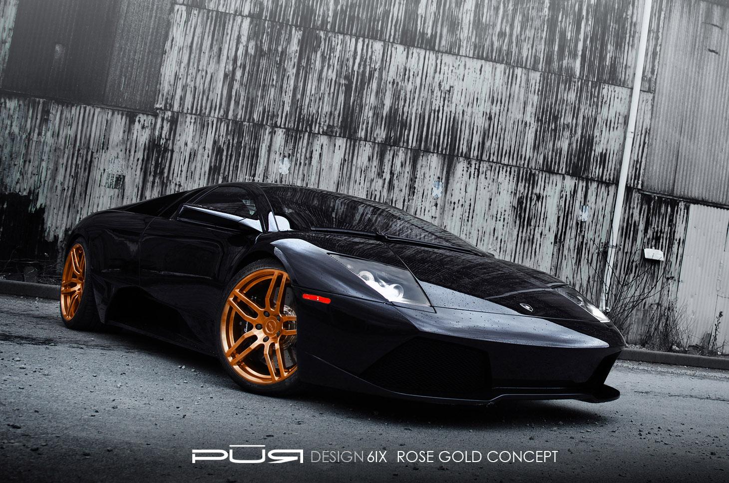 Pur колеса на Lamborghini Murcielago LP 640 - фотография №1