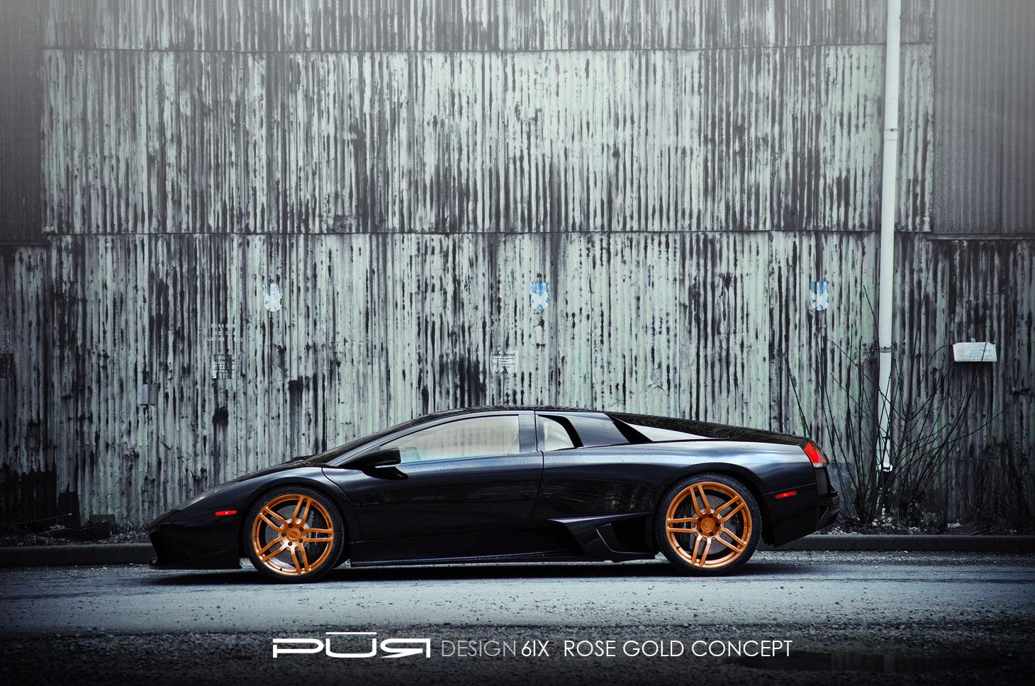 Pur колеса на Lamborghini Murcielago LP 640 - фотография №2