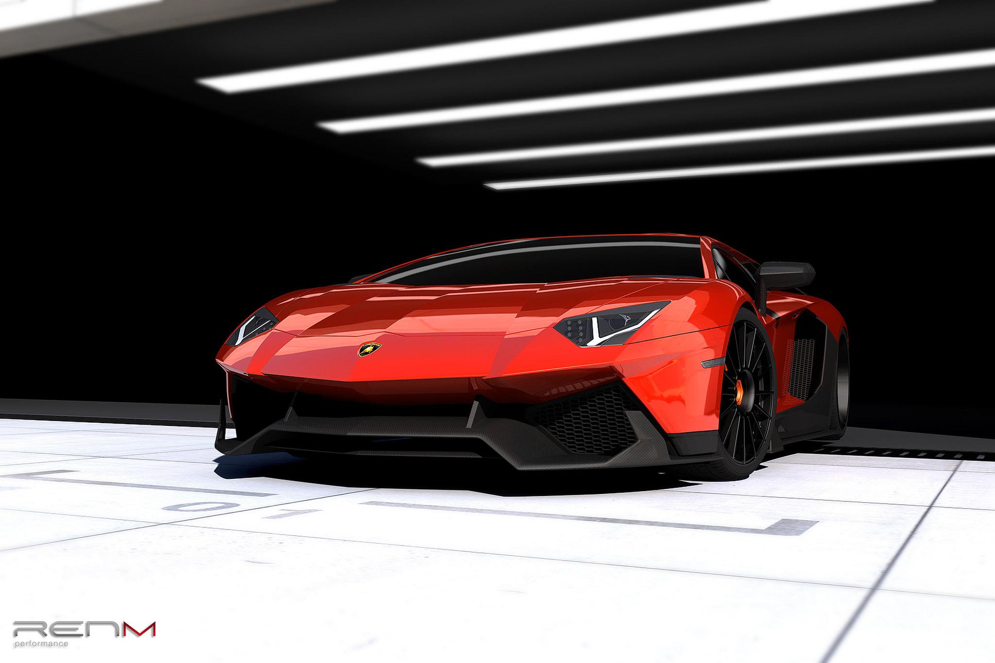 RENM Lamborghini Aventador LE-C - фотография №1