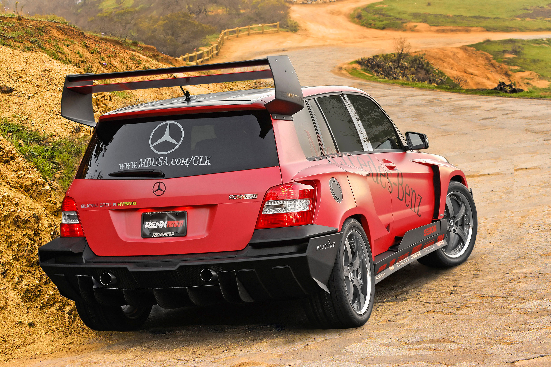Mercedes-Benz GLK the pikes peak rally racer by renntech - фотография №2