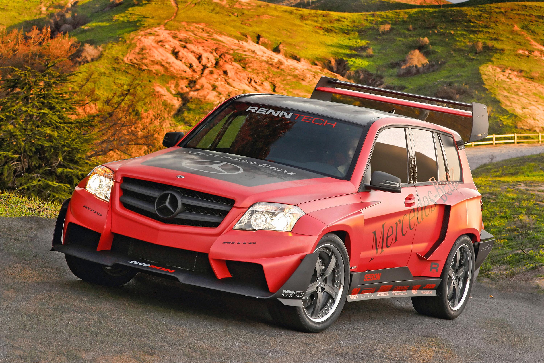 Mercedes-Benz GLK the pikes peak rally racer by renntech - фотография №3