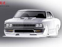 Ringbrothers SEMA Chevrolet Chevelle Sketch