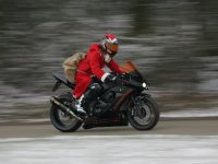 Santa Claus on Asphaltfighters STORMBRINGER