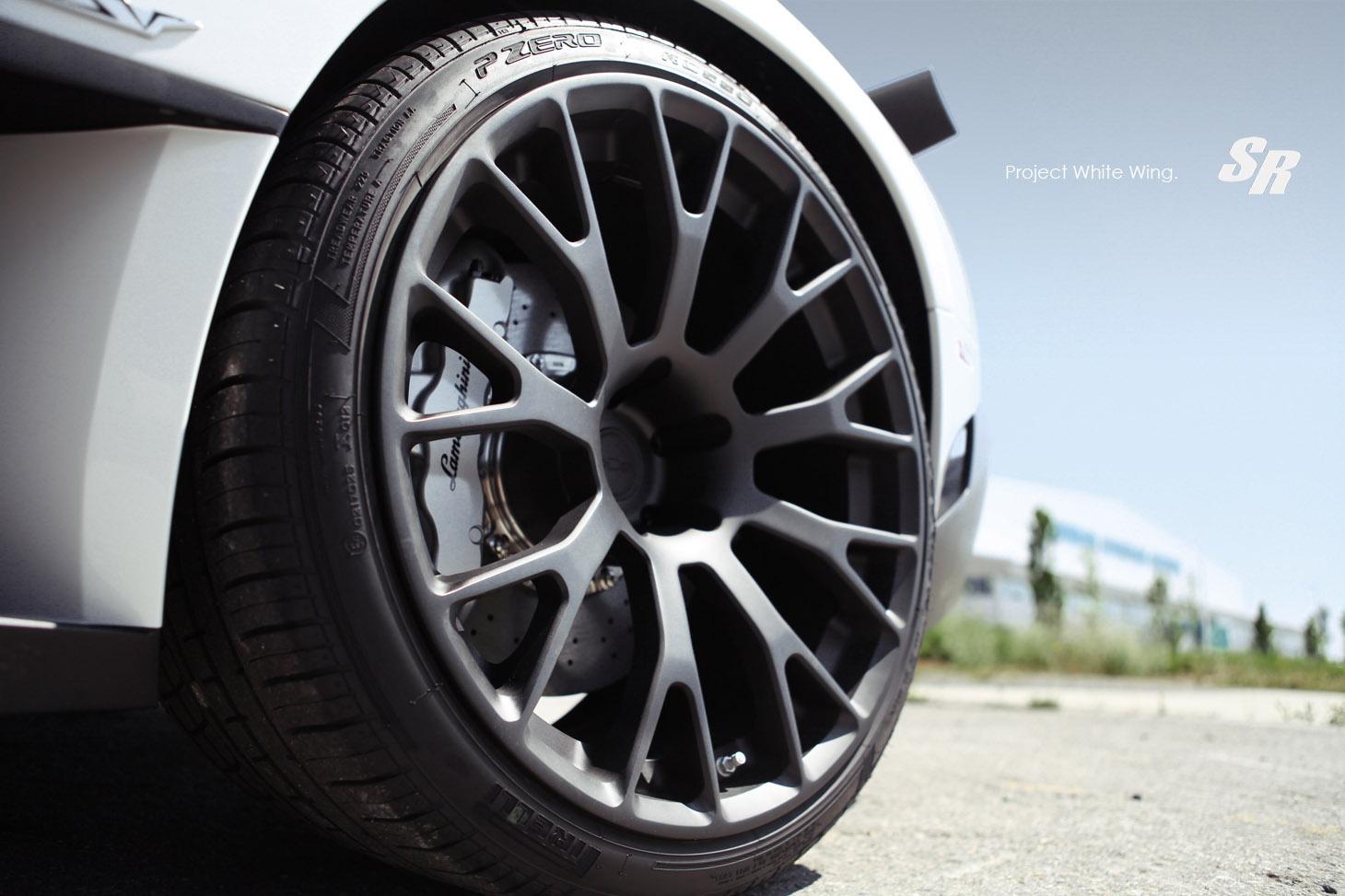 SR Auto, Lamborghini Murcielago SV с PUR Wheels  - фотография №5
