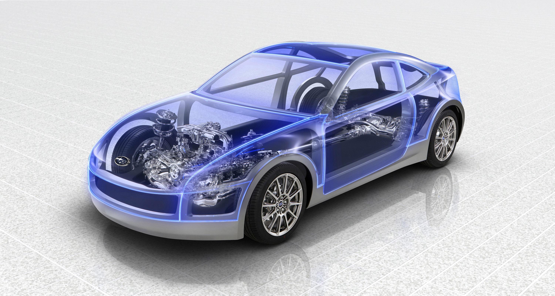 Subaru Boxer Sports Car Architecture - фотография №1