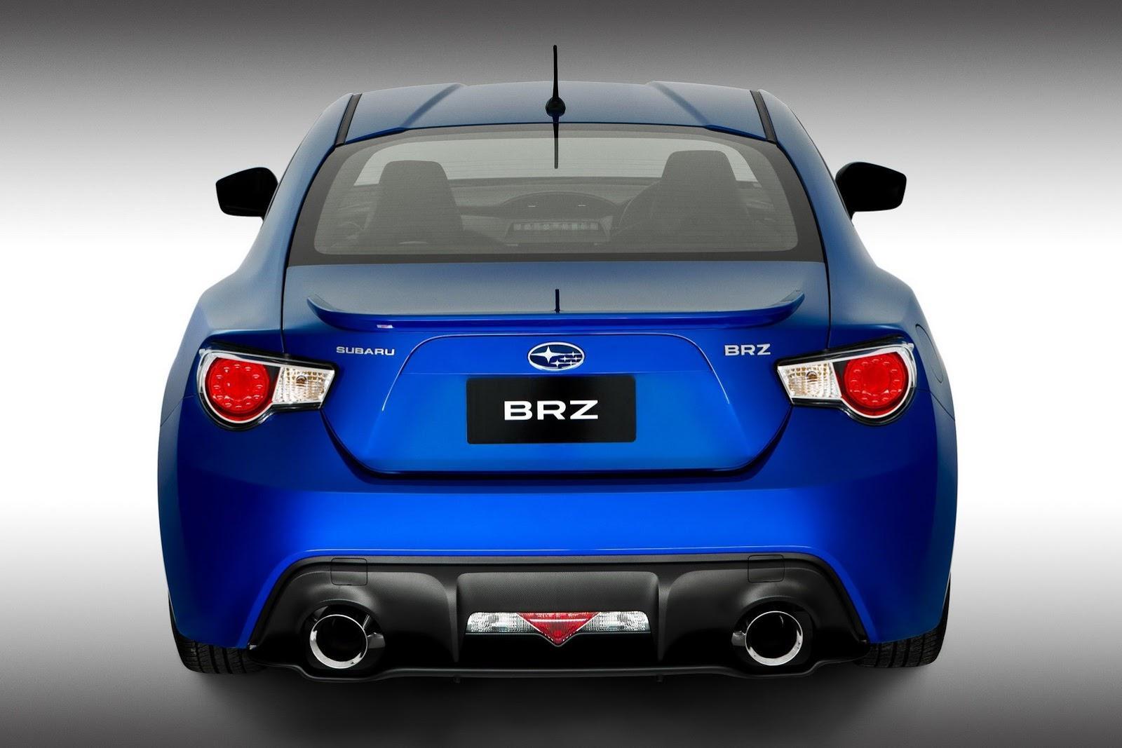 Subaru BRZ STI Concept в 2012 г. цели - фотография №3