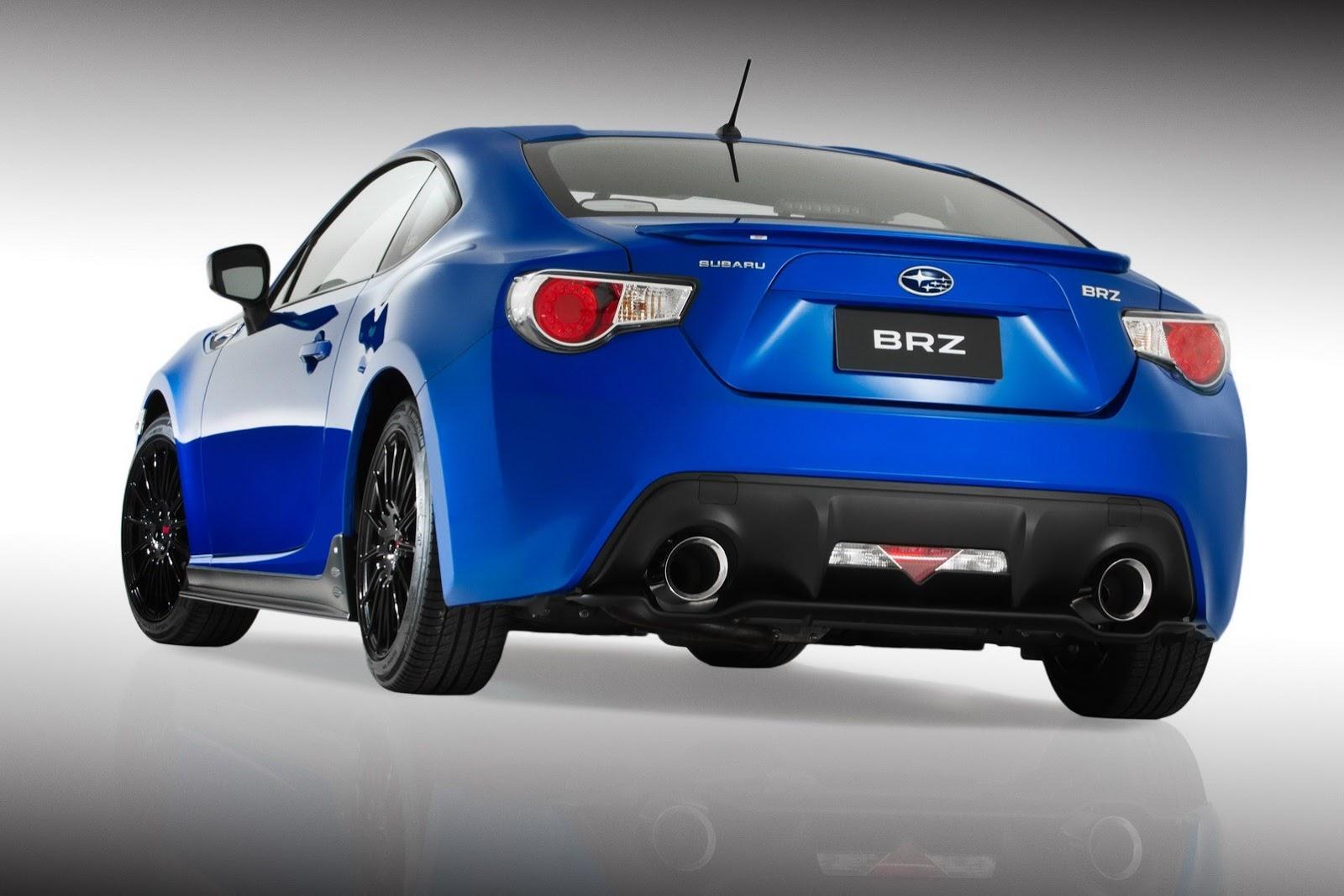 Subaru BRZ STI Concept в 2012 г. цели - фотография №7