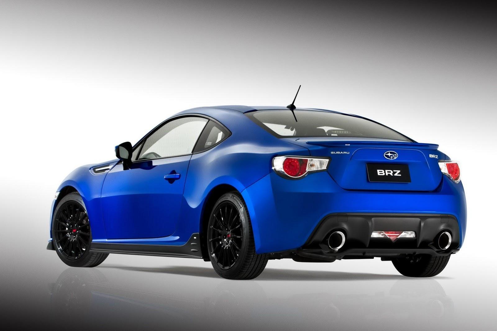 Subaru BRZ STI Concept в 2012 г. цели - фотография №10