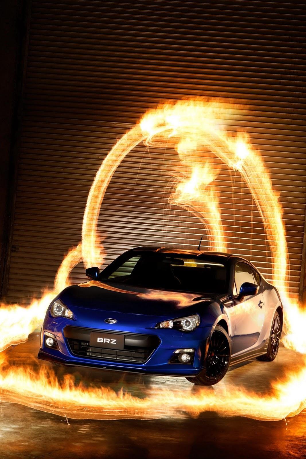 Subaru BRZ STI Concept в 2012 г. цели - фотография №13