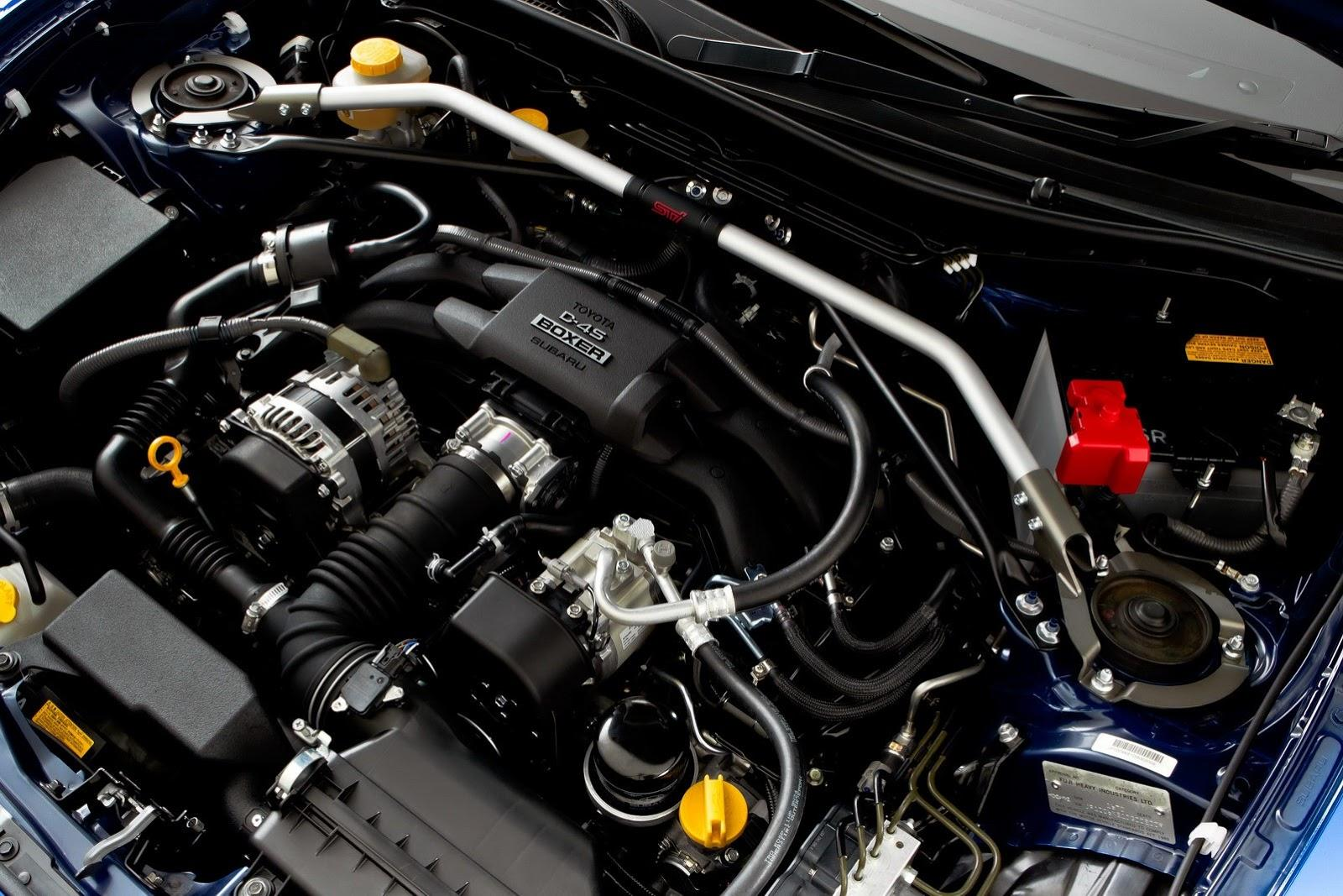 Subaru BRZ STI Concept в 2012 г. цели - фотография №19