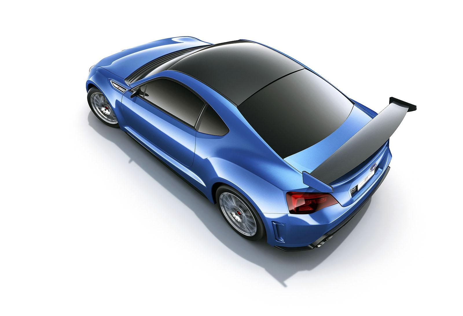 Subaru BRZ STi Concept - фотография №2