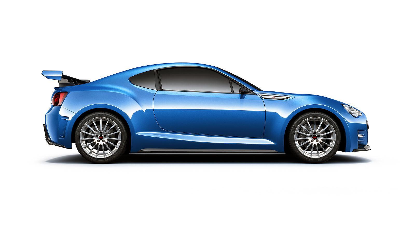 Subaru BRZ STi Concept - фотография №8