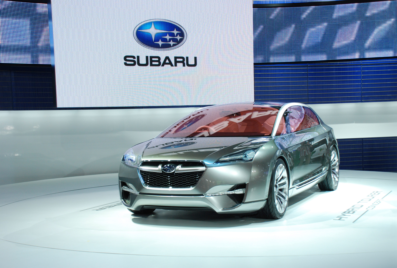Subaru Hybrid Tourer Concept представила на Tokyo Motor show 2009 - фотография №1