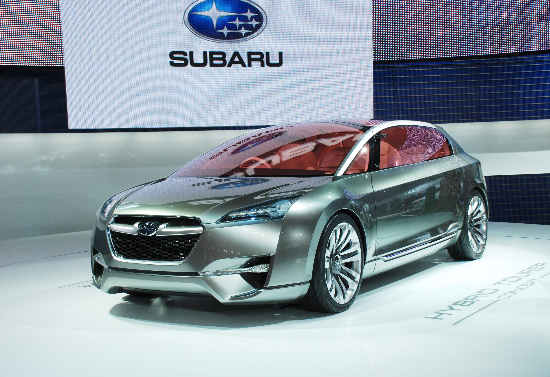 Subaru Hybrid Tourer Concept представила на Tokyo Motor show 2009 - фотография №2