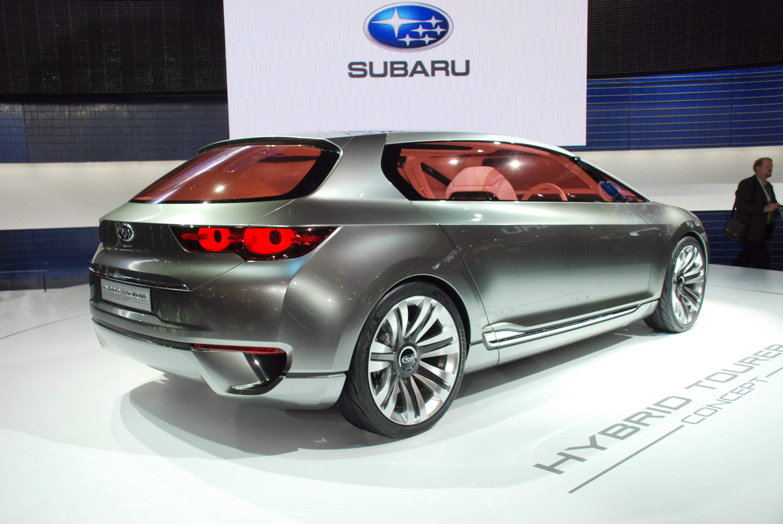Subaru Hybrid Tourer Concept представила на Tokyo Motor show 2009 - фотография №3