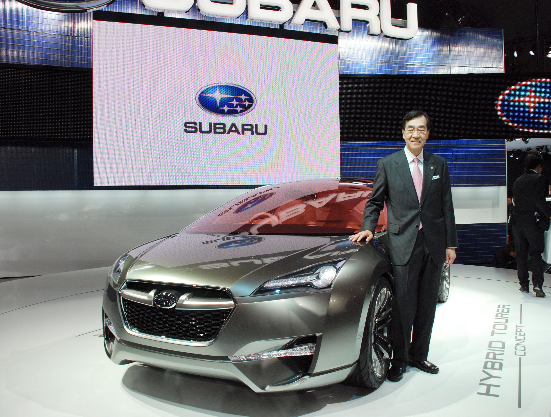 Subaru Hybrid Tourer Concept представила на Tokyo Motor show 2009 - фотография №4