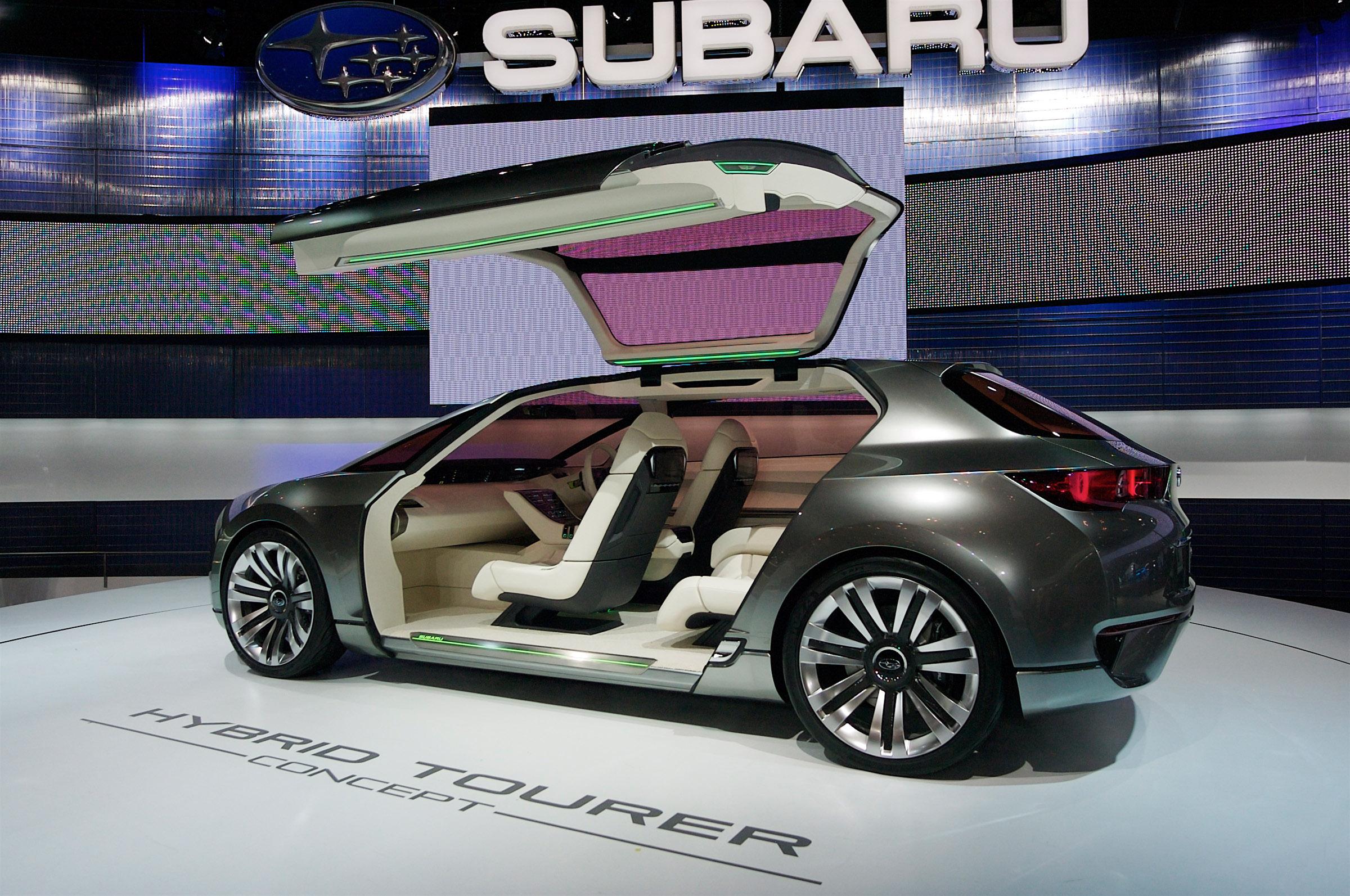 Subaru Hybrid Tourer Concept представила на Tokyo Motor show 2009 - фотография №8