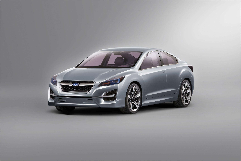 Impreza Concept - яркий дизайн-star Subaru - фотография №1