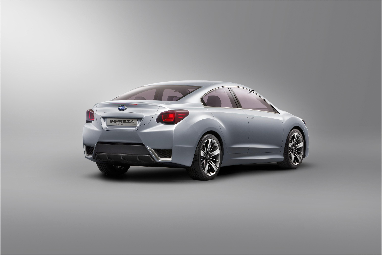 Impreza Concept - яркий дизайн-star Subaru - фотография №4