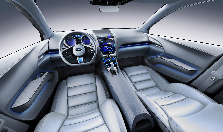 Impreza Concept - яркий дизайн-star Subaru - фотография №7