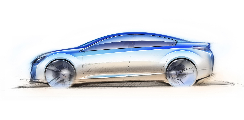 Impreza Concept - яркий дизайн-star Subaru - фотография №11