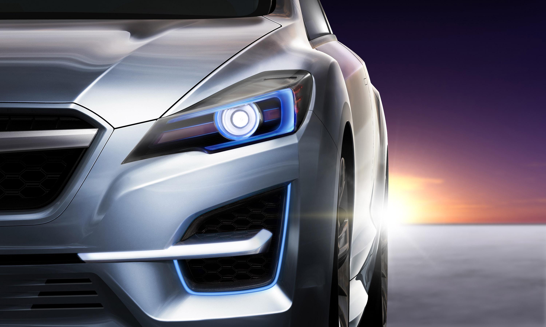 Impreza Concept - яркий дизайн-star Subaru - фотография №12