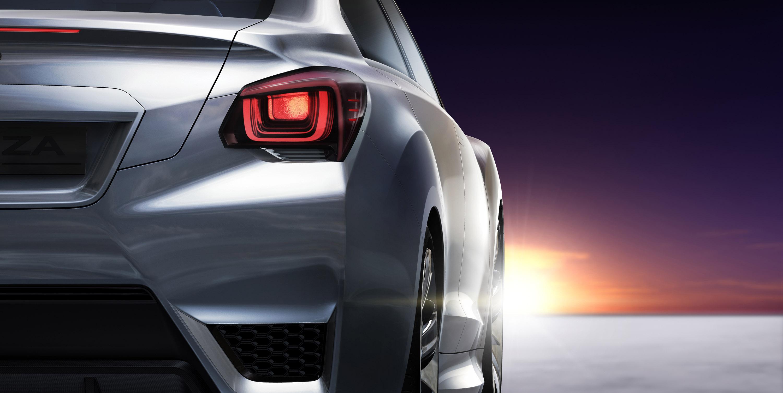 Impreza Concept - яркий дизайн-star Subaru - фотография №13