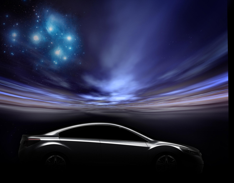 Impreza Concept - яркий дизайн-star Subaru - фотография №14