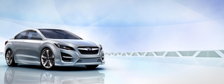 Impreza Concept - яркий дизайн-star Subaru - фотография №15