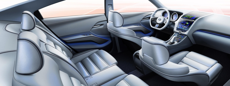 Impreza Concept - яркий дизайн-star Subaru - фотография №18