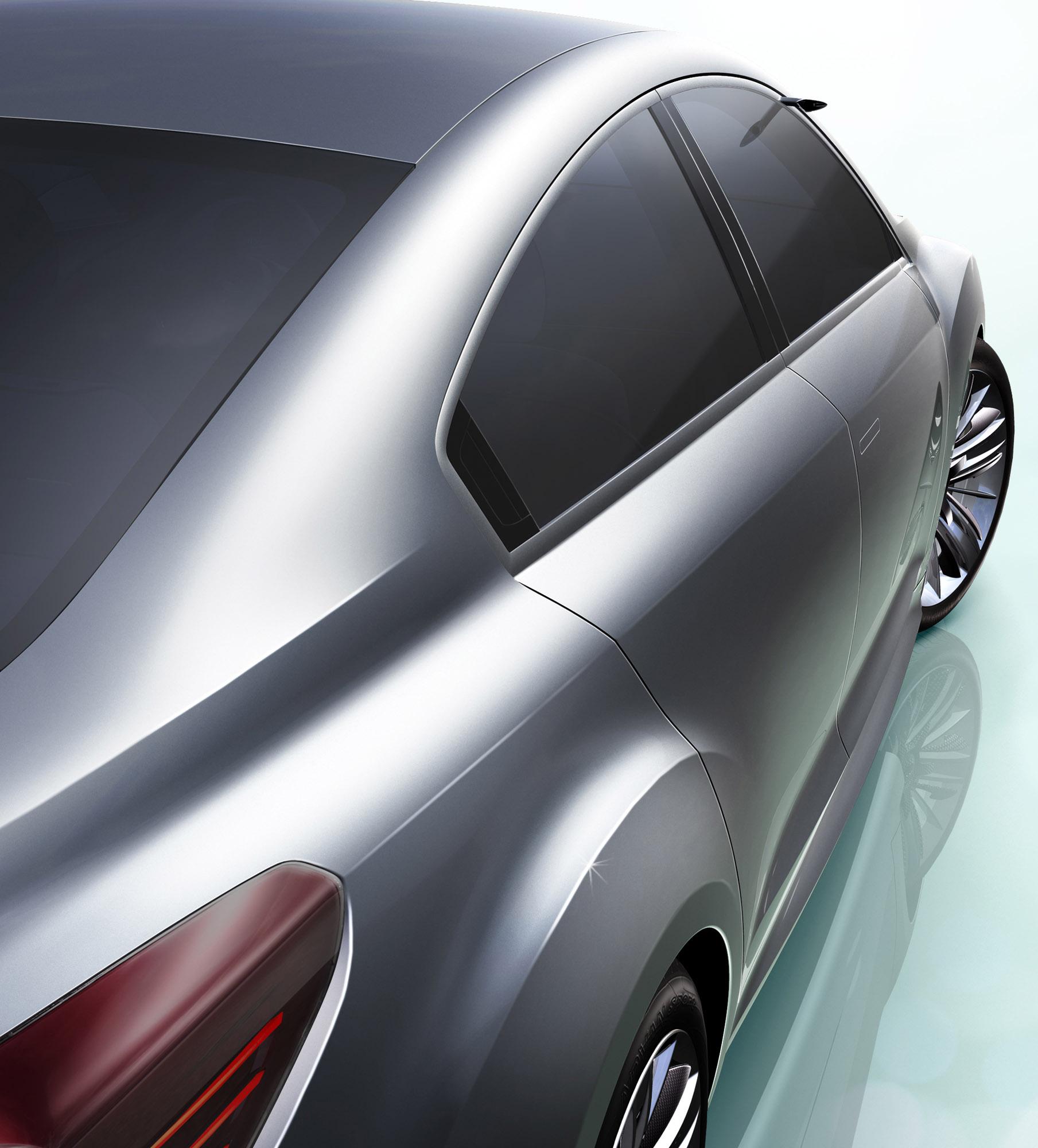 Impreza Concept - яркий дизайн-star Subaru - фотография №20