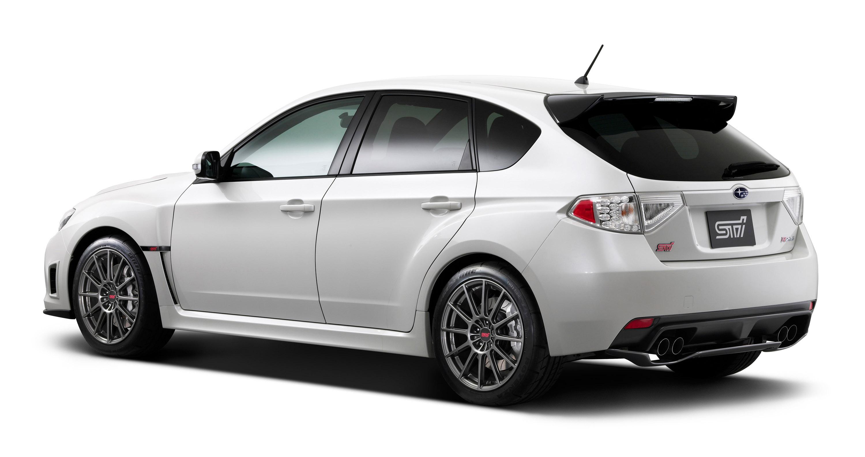 STI представлена Subaru Impreza R205 limited-edition  - фотография №2