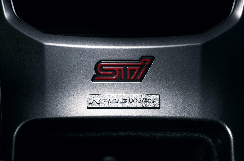 STI представлена Subaru Impreza R205 limited-edition  - фотография №14