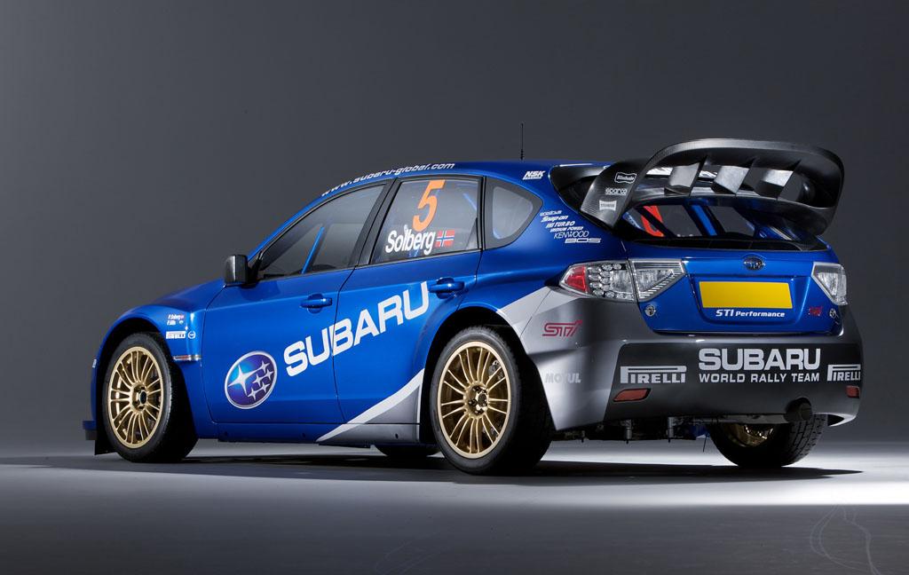"""Последние Мировые ралли автомобиль """"Subaru Impreza WRC 2008"""" стартует в Греции  - фотография №2"""