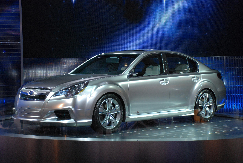 Subaru Legacy Concept - фотография №1