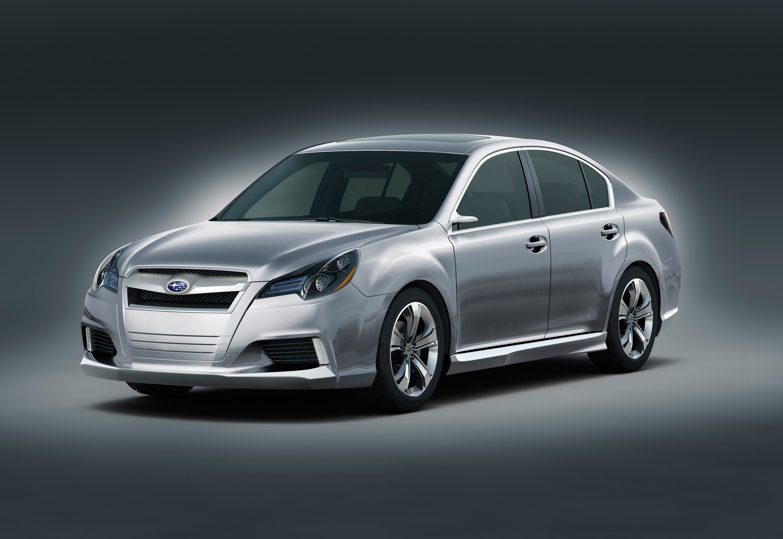 Subaru Legacy Concept - фотография №4