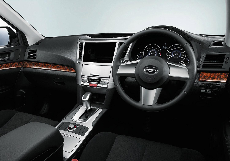 Subaru Legacy Touring Wagon, Outback B4 и все полностью переработан - фотография №3
