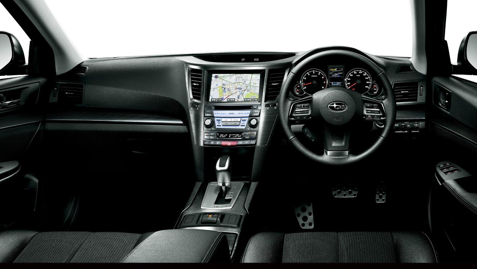 Subaru Legacy и Outback - обновленной и обновляется - фотография №7