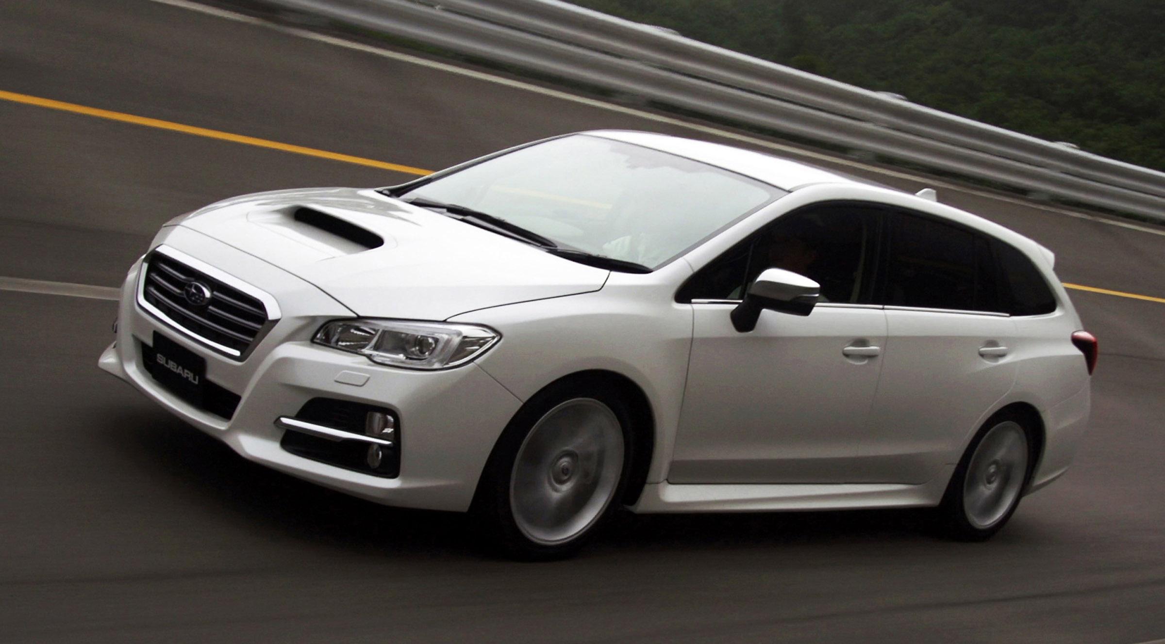 На Subaru Levorg концепт дебютирует в Токио - фотография №4